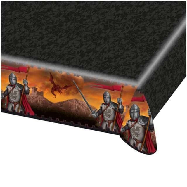 "Obrus foliowy ""Rycerze"", AMSCAN, 180x120 cm"