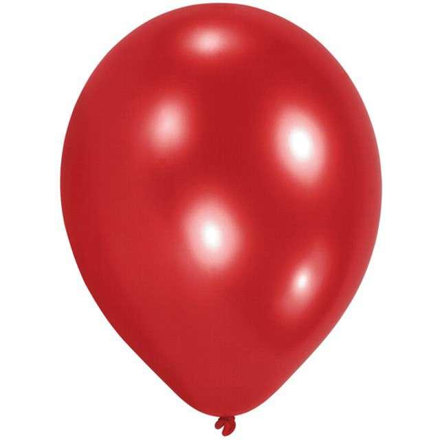 """Balony """"Classic"""", czerwone, AMSCAN, 8"""", 10 szt"""