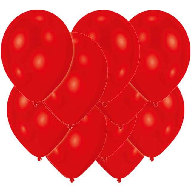 """Balony """"Classic"""", czerwone, AMSCAN, 11"""", 10 szt"""