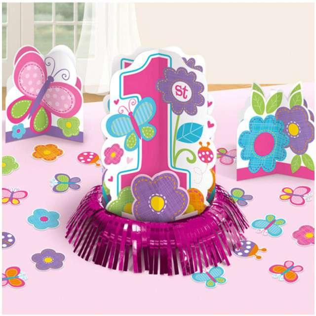 Dekoracja Zestaw na stół - Baby Shower Girl Amscan