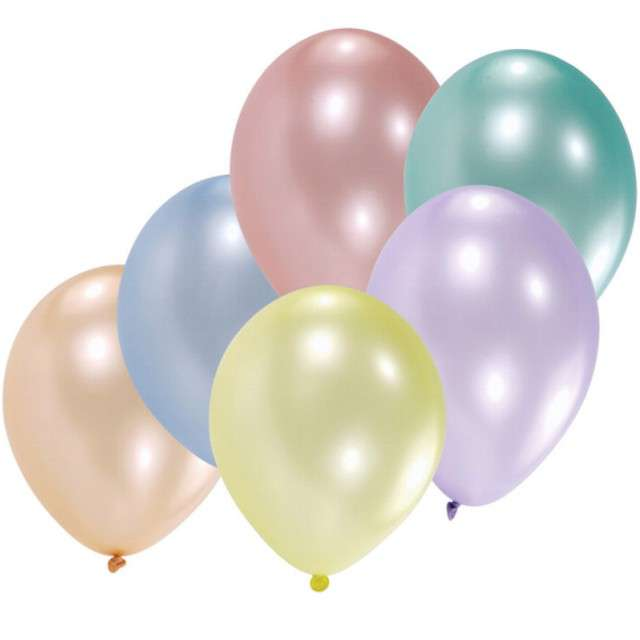 _xx_8 Latex Balloons pearl Assorted 25,4 cm/10