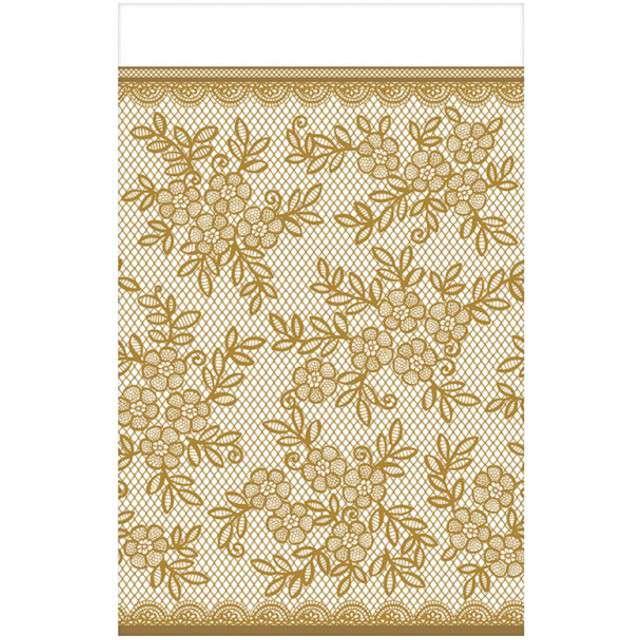 "Obrus foliowy ""Delicate Lace"", AMSCAN, 259x137 cm"