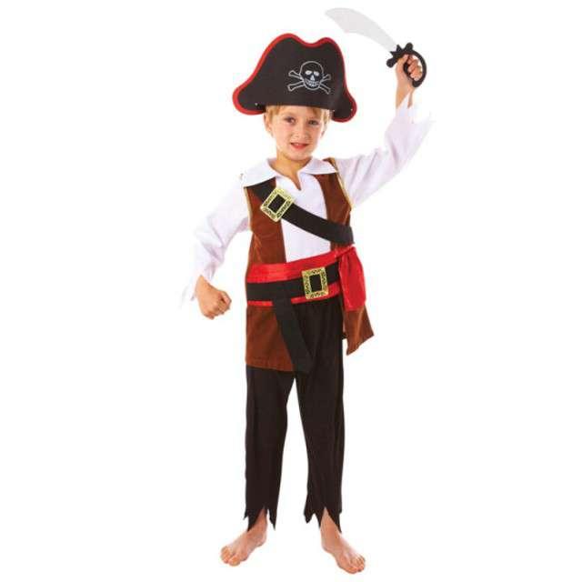 """Strój dla dzieci """"Kapitan Piratów"""", AMSCAN, rozm. 6-8 lat"""