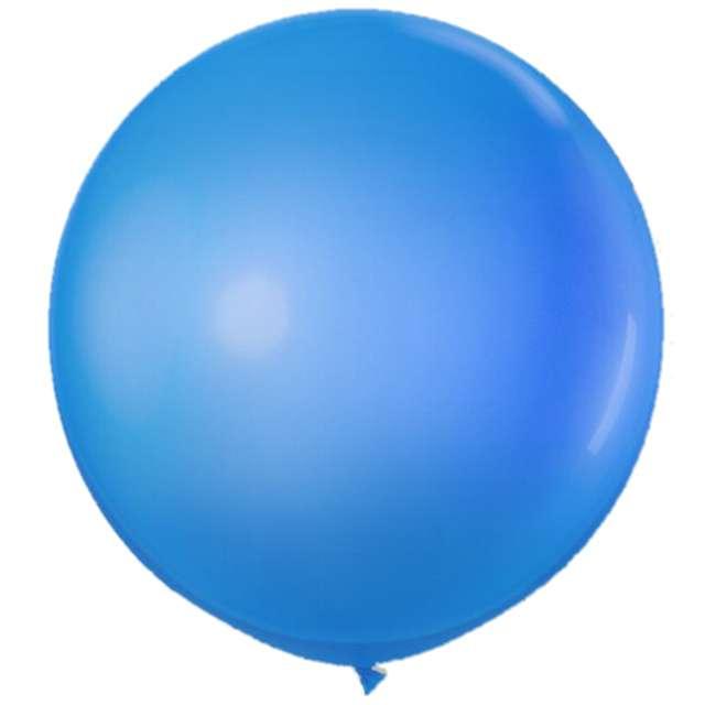 "Balon olbrzym ""Classic"", niebieski, VIPER, 90 cm"