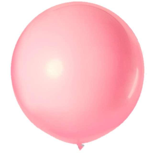 """Balon olbrzym """"Classic"""", różowy jasny, VIPER, 90 cm"""
