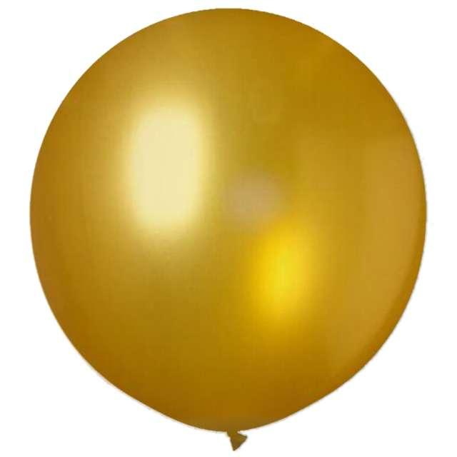 """Balon olbrzym """"Classic"""", złoty, VIPER, 90 cm"""