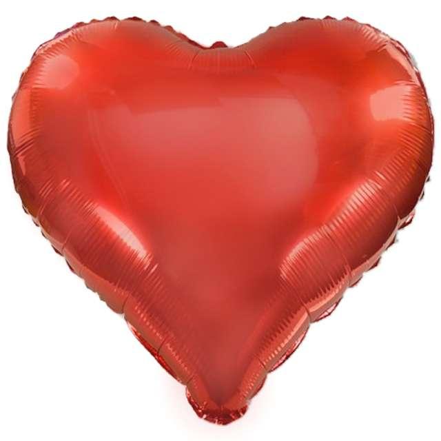 "Balon foliowy ""Serce XL"", czerwony, VIPER, 24"" HRT"