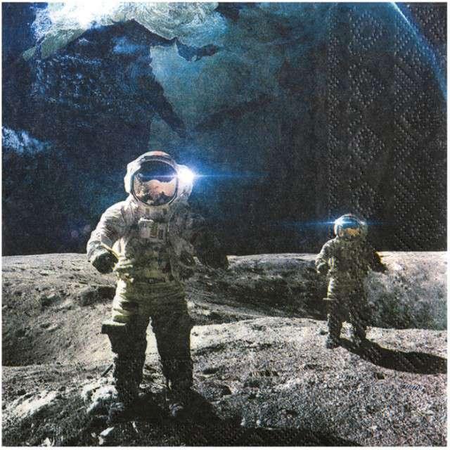 "Serwetki ""Astronauci"", SANTEX, 33 cm, 20 szt"