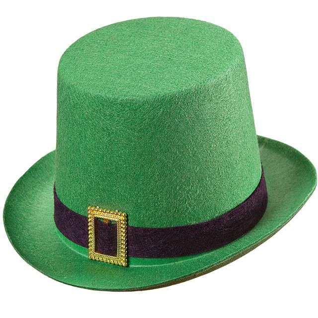 """Kapelusz """"Skrzat - Święty Patryk"""", zielony, WIDMANN"""