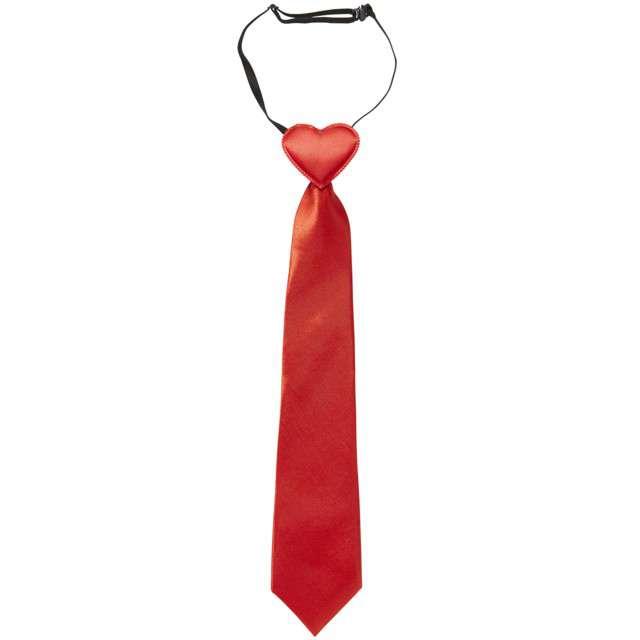 """Krawat """"Serce Walentynkowe"""", czerwony, WIDMANN"""