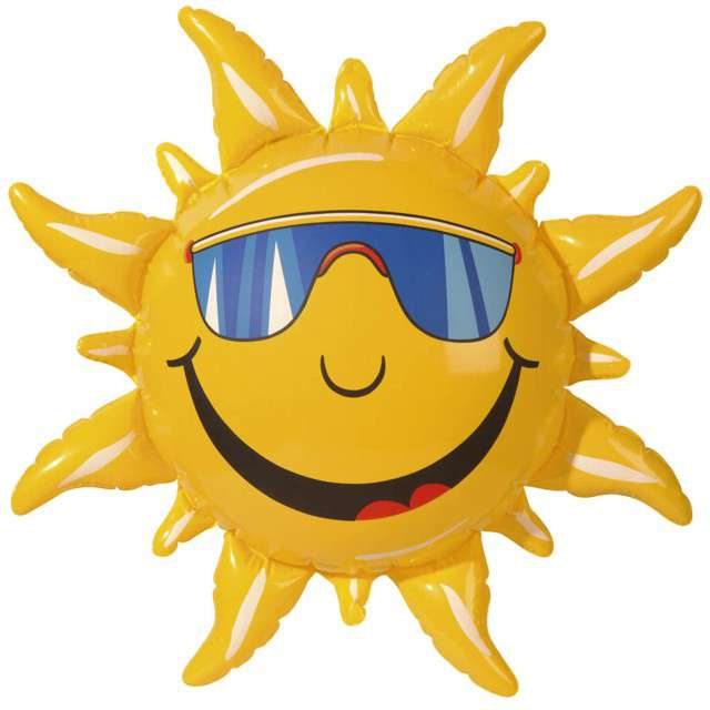 """Dmuchaniec """"Słońce w okularach"""", WIDMANN, 60 cm"""