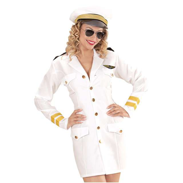 """Strój dla dorosłych """"Pani Admirał"""", WIDMANN, rozm. M"""