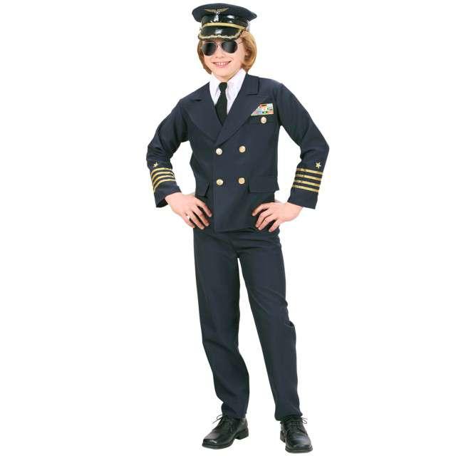 """Strój dla dzieci """"Pilot Samolotu"""", WIDMANN, rozm. 5-7 lat"""