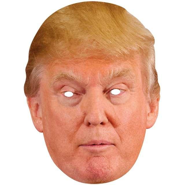 "Maska ""Donald Trump"", papierowa, RUBIES"