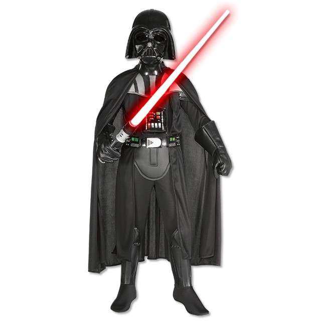 """Strój dla dzieci """"Darth Vader Deluxe"""", RUBIES, rozm. M"""