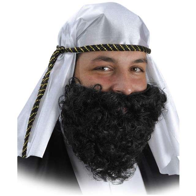 """Turban """"Szejk Abdul"""", biały, Carnival Toys"""