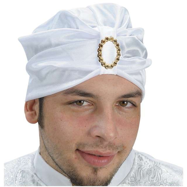 "Turban ""Abdul Wisimu Laha"", biały, Carnival Toys"