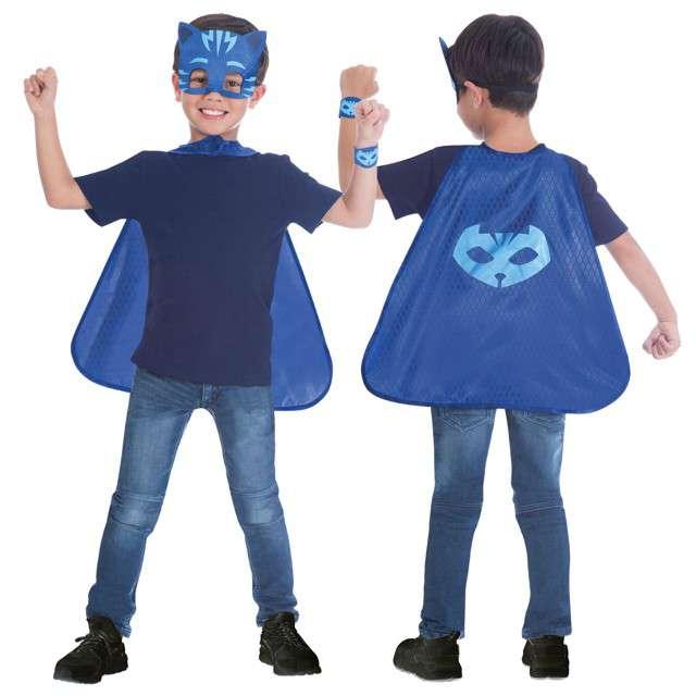 "Strój dla dzieci ""PJ Masks Kotboy Premium"", AMSCAN, rozm. 4-8 lata"