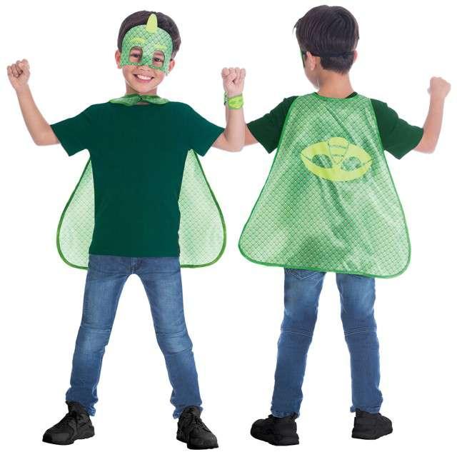 """Strój dla dzieci """"PJ Masks Greg Gekson Premium"""", AMSCAN, rozm. 4-8 lat"""