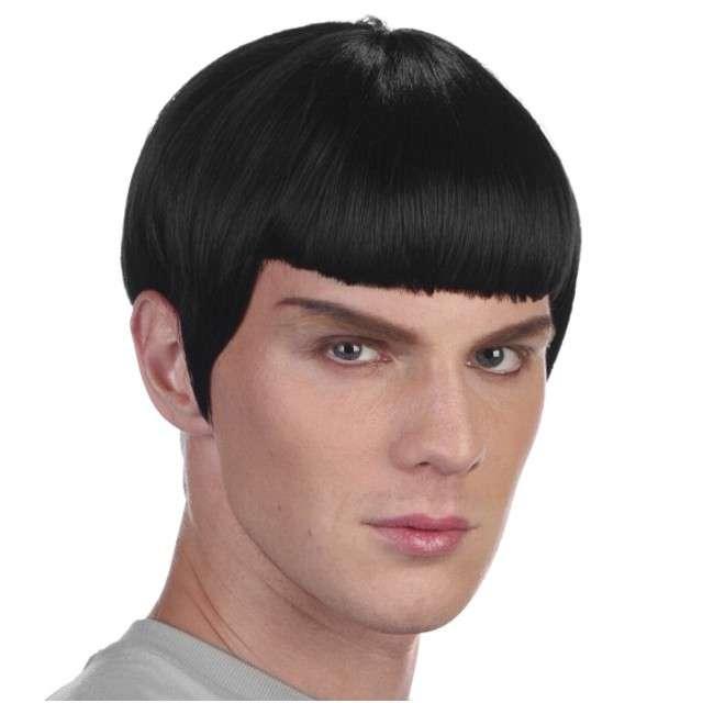 "Peruka party ""Spock"", czarna, PROCOS"