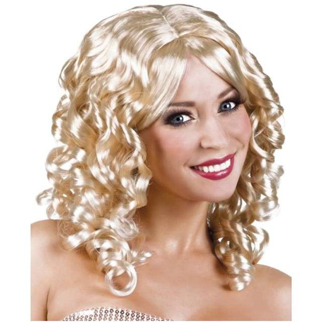 "Peruka party ""Koktajl"", blond, BOLAND"