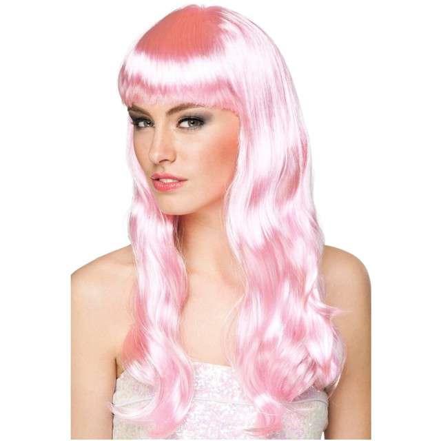 """Peruka party """"Chique"""", różowy jasny, BOLAND"""