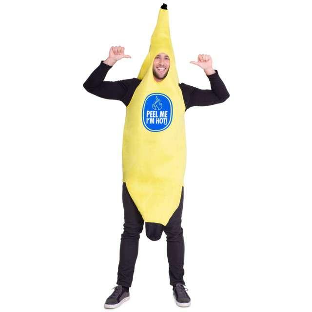 """Strój dla dorosłych """"Banan"""", FOLAT, rozm. uniw."""