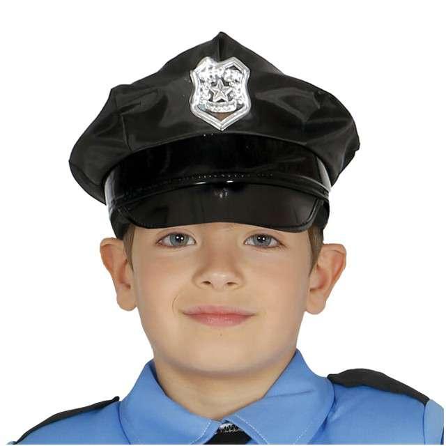 """Czapka """"Policjant"""", GUIRCA, czarna"""