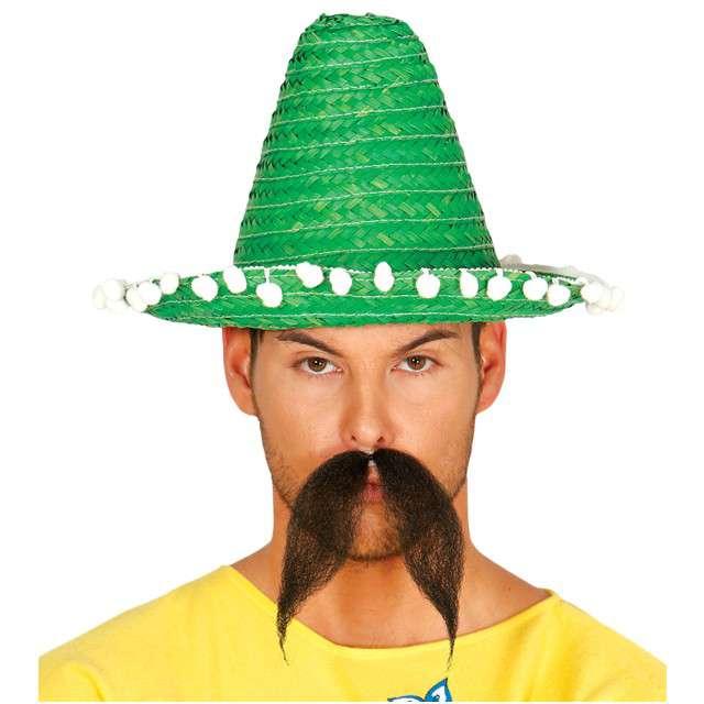 "Kapelusz ""Mini Sombrero"", zielony, GUIRCA, 33 cm"
