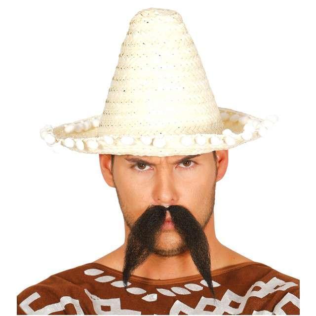 "Kapelusz ""Mini Sombrero"", kremowy, GUIRCA, 33 cm"
