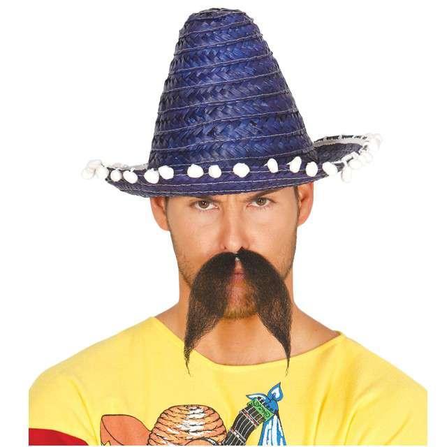 "Kapelusz ""Mini Sombrero"", niebieski, GUIRCA, 33 cm"
