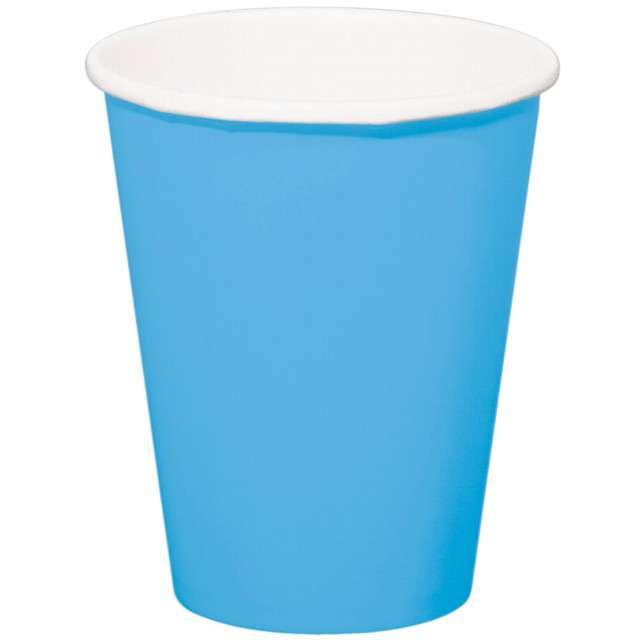 """Kubeczki papierowe """"Classic XL"""", niebieskie, FOLAT, 350 ml, 8 szt"""
