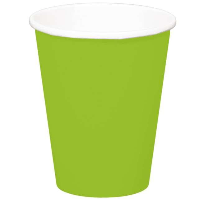 """Kubeczki papierowe """"Classic XL"""", zielone jabłuszko, FOLAT, 350 ml, 8 szt"""