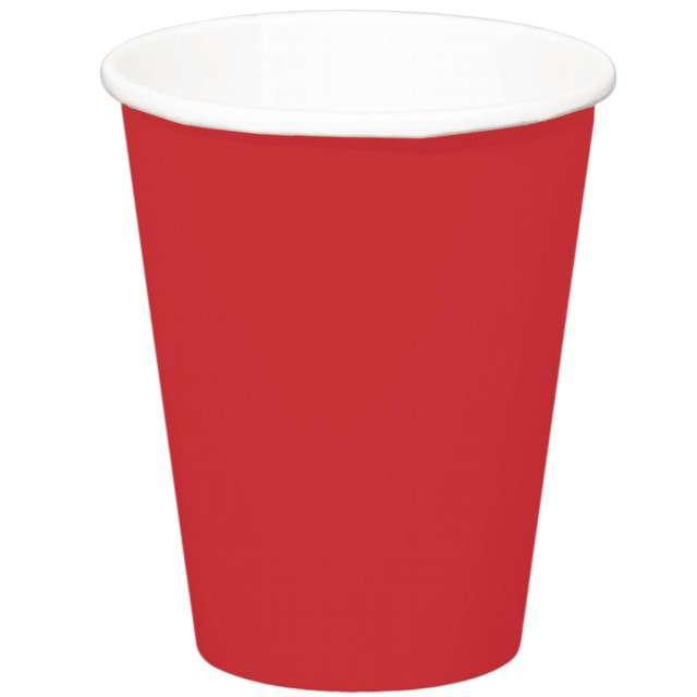 """Kubeczki papierowe """"Classic XL"""", czerwony, FOLAT, 350 ml, 8 szt"""