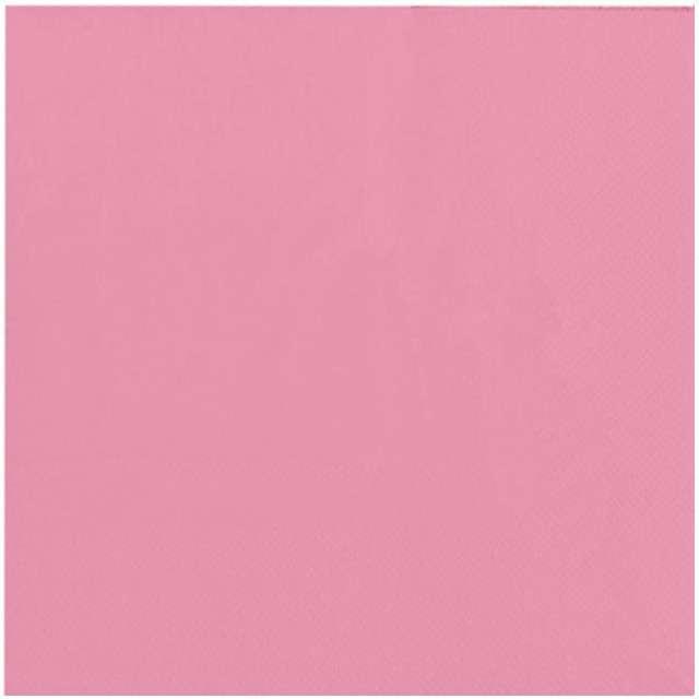 """Serwetki """"Classic"""", różowe jasne, FOLAT, 33 cm, 20 szt"""