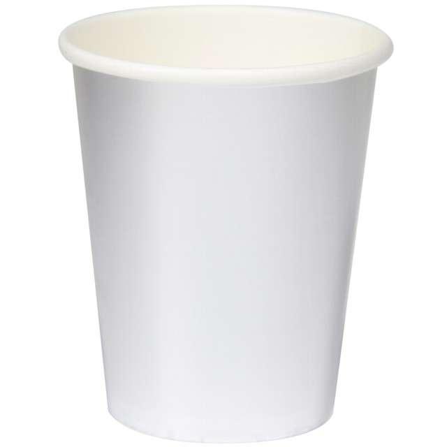 """Kubeczki papierowe """"Metalic Cups"""", srebrny, FOLAT, 250 ml, 8 szt"""