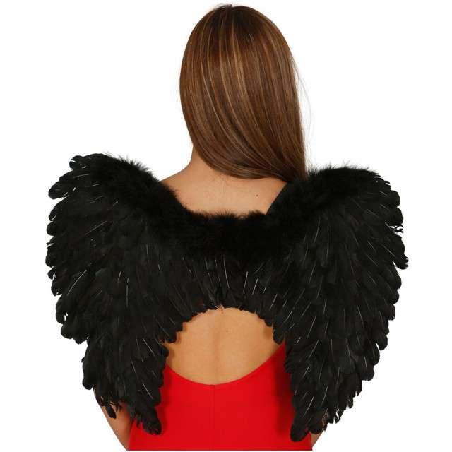 "Skrzydła anioła ""Premium"", czarne, GUIRCA, 60x45 cm"