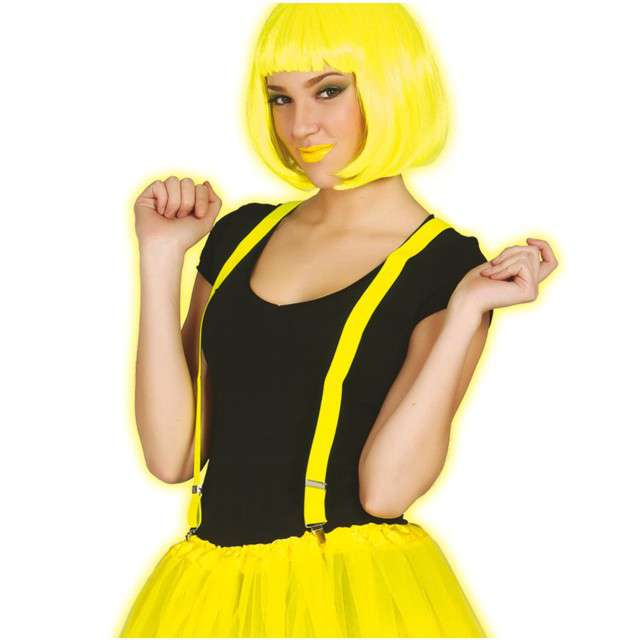 "Szelki ""Neon"", żółte, GUIRCA"