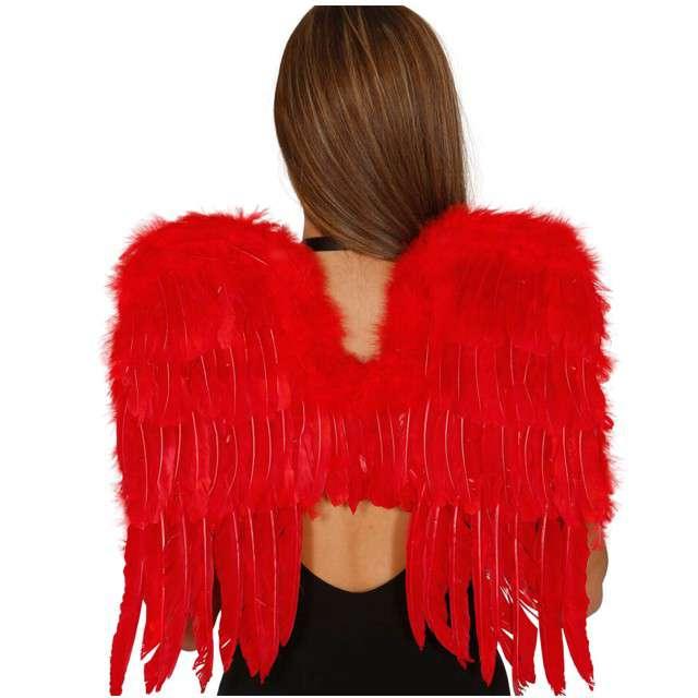 """Skrzydła """"Anioł Premium"""", czerwone, GUIRCA, 60x45 cm"""