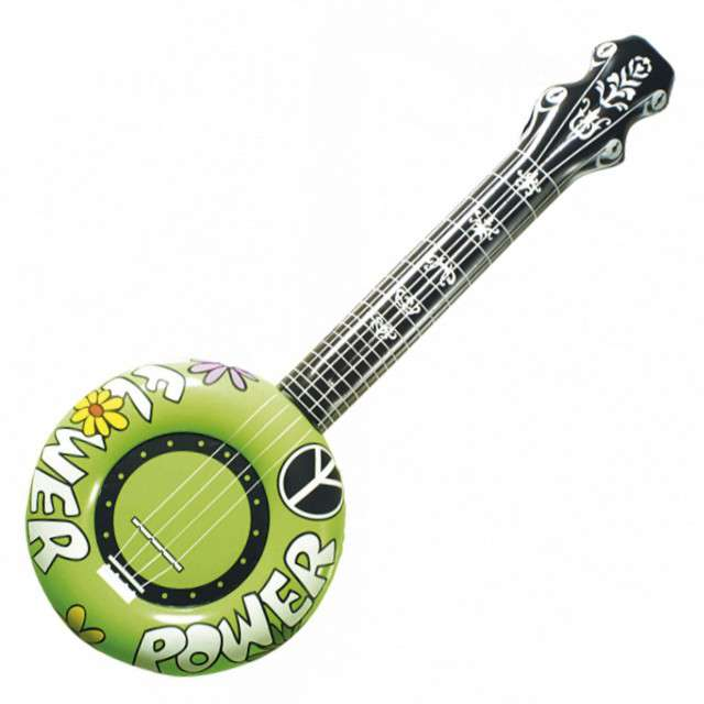 "Dmuchaniec ""Gitara Banjo"", zielona, WIDMANN, 100 cm"