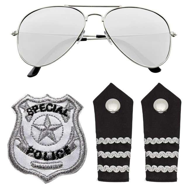"""Zestaw """"Policjant Deluxe"""", WIDMANN"""