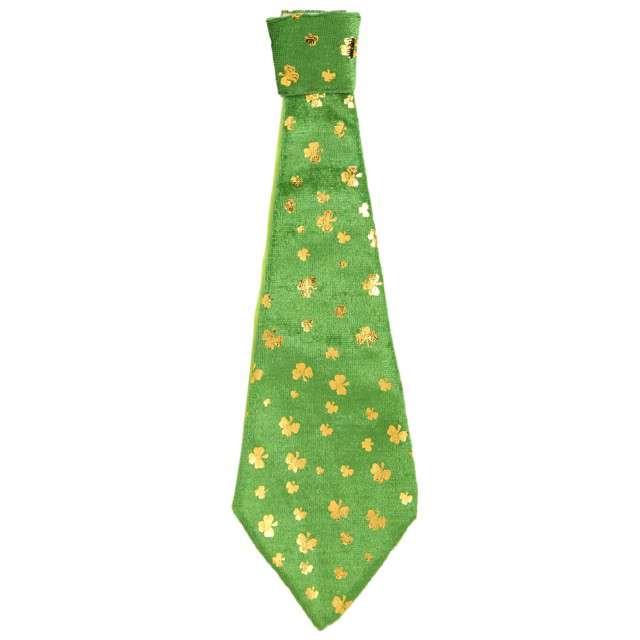 """Krawat """"Święty Patryk"""", zielony, WIDMANN"""