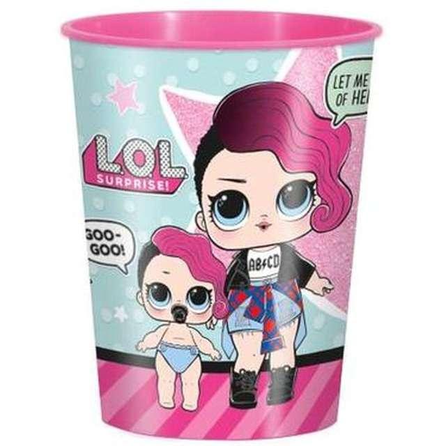 "Kubeczki plastikowe ""LoL Surprise"", UNIQUE, 470 ml, 1 szt"
