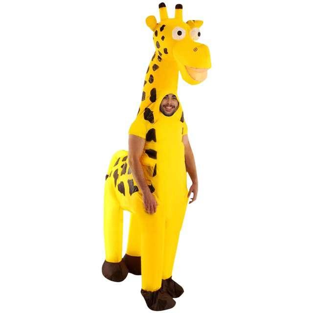 """Strój dla dorosłych """"Żyrafa"""", GODAN, nadmuchiwany"""