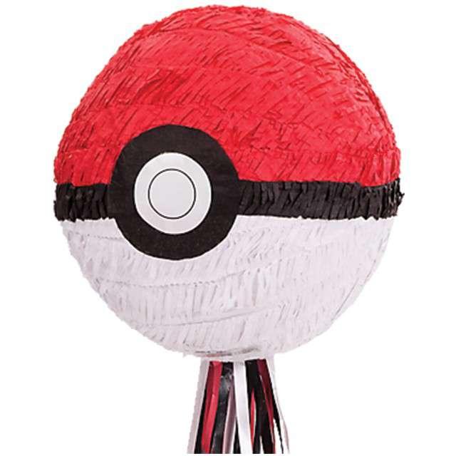 """Piniata """"Pokemon Ball"""", AMSCAN, 28x28 cm"""