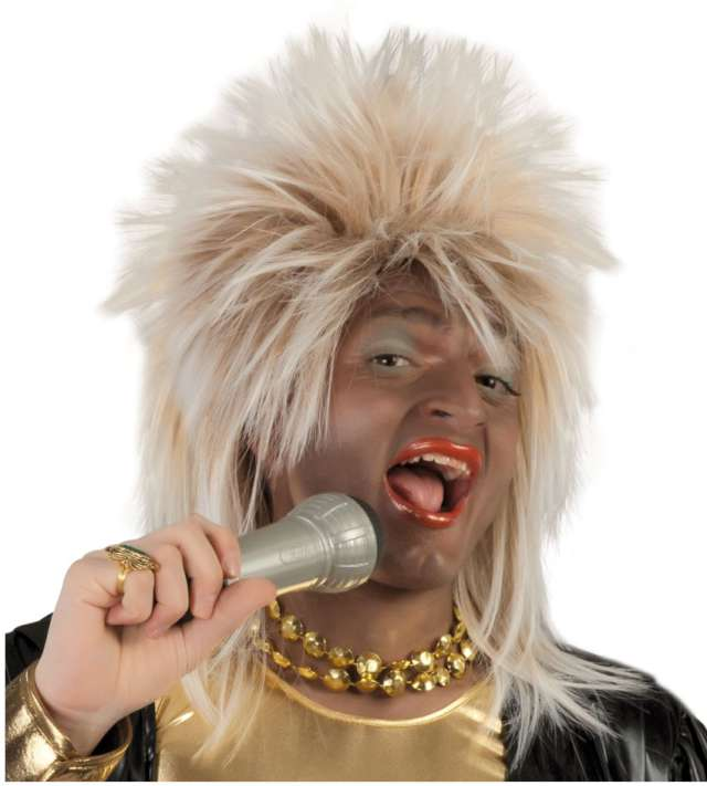 "Peruka party ""Tina Turner"", blond, GUIRCA"