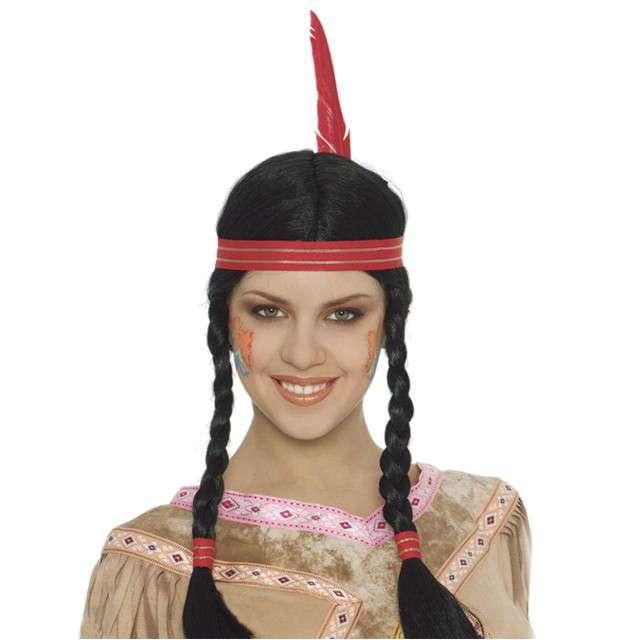 """Peruka party """"Indianka Marla"""", czarma. GUIRCA"""