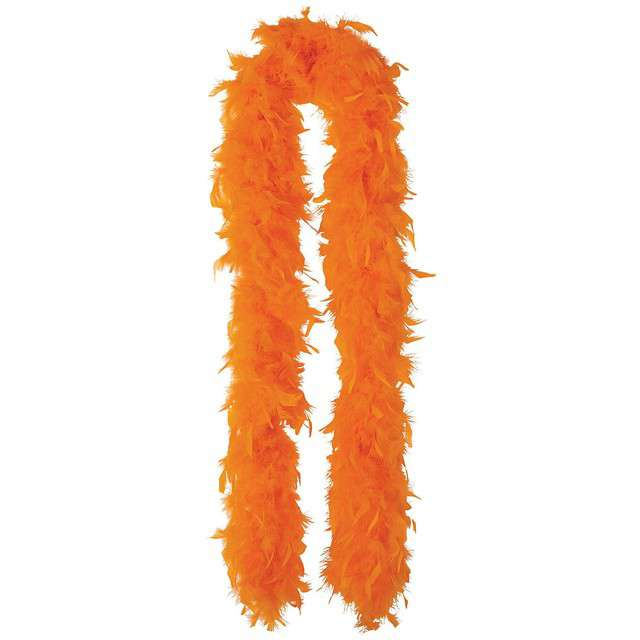 "Boa ""Classic"", pomarańczowe, GUIRCA, 40 g, 180 cm"
