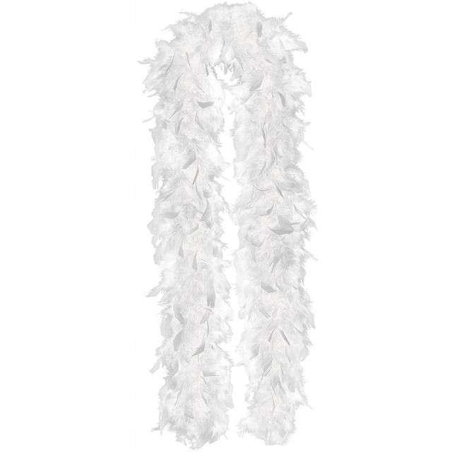 "Boa ""Deluxe"", białe, GUIRCA, 90 g, 180 cm"