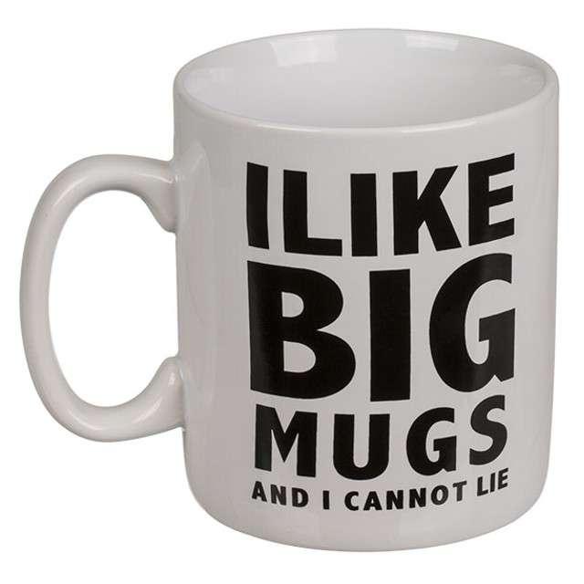 "Kubek ""I LIKE BIG MUGS"", OOTB, 890 ml"
